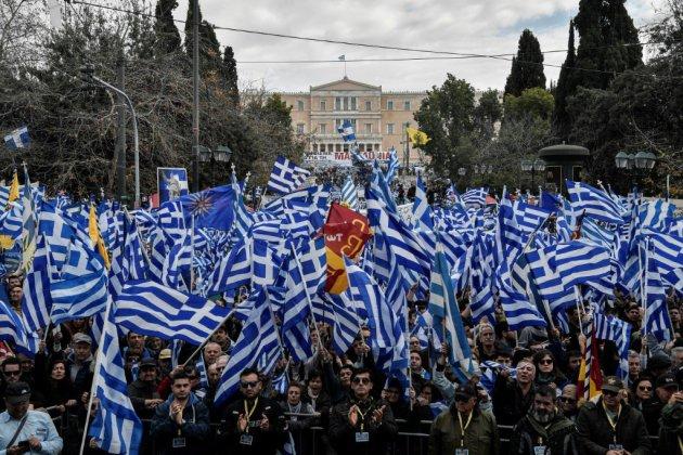 Incidents lors d'une manifestation à Athènes contre le nouveau nom de la Macédoine