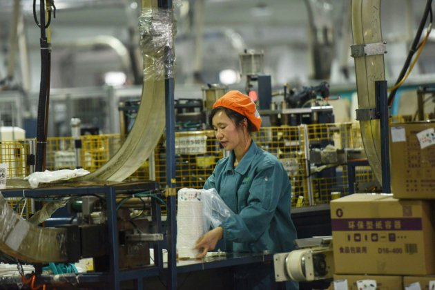 Chine: la croissance progresse au rythme le plus faible en 28 ans