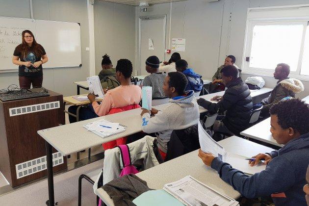 À Rouen, les jeunes migrants peuvent apprendre le français à l'université