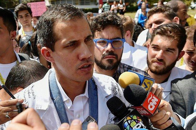 Juan Guaido, président autoproclamé, présente son plan pour le Venezuela