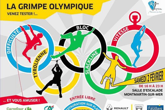 Découvrez la grimpe olympique à Montmartin sur Mer