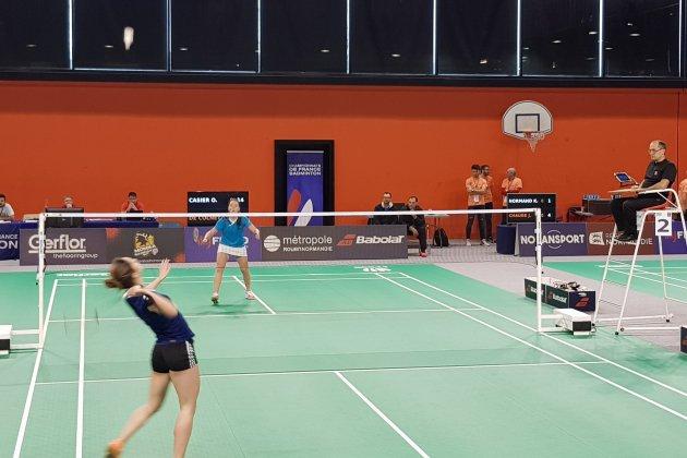 Zone Libre aux championnats de France de badminton