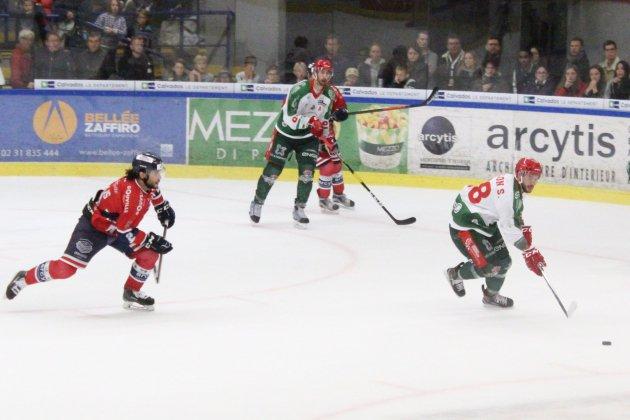 Hockey sur Glace :Caen se fait fesser par le leader Brestois