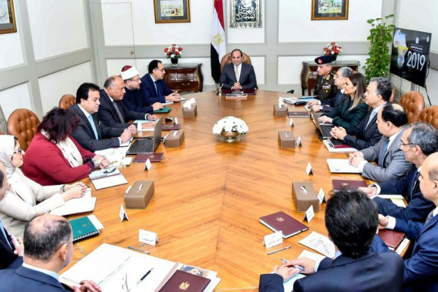 Egypte: projet d'amendements pour permettre à Sissi de se représenter