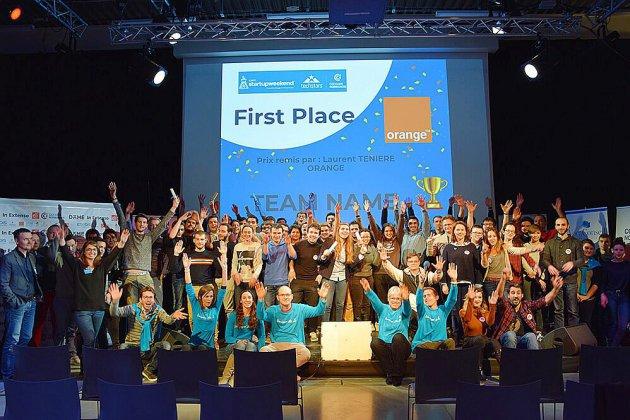 Caen: un franc succès pour la 7e édition du Startup Weekend