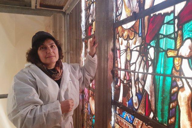 Visite au cœur de la cathédrale du Havre, en pleine restauration
