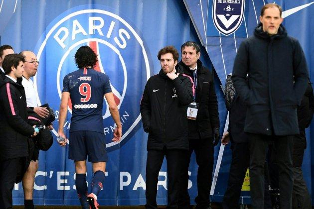 PSG: Cavani sort sur blessure, à trois jours de Manchester United