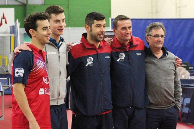 Tennis de table: vainqueur à Miramas, Caen rafle tout en Pro B