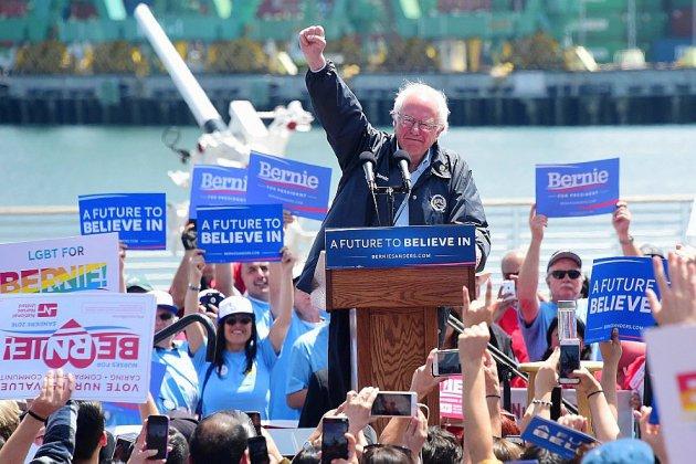 Bernie Sanders de nouveau candidat à l'élection présidentielle américaine
