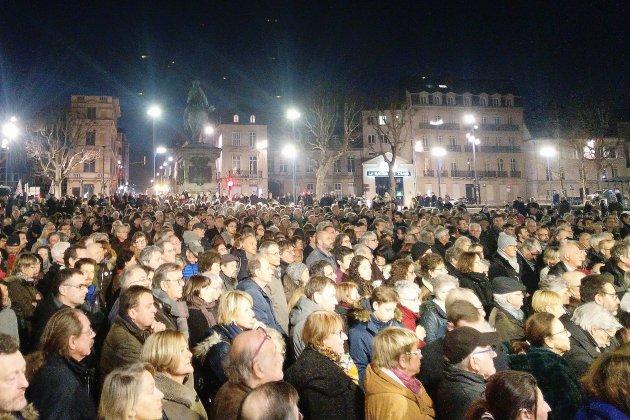 Forte mobilisation à Rouen contre la hausse des actes antisémites