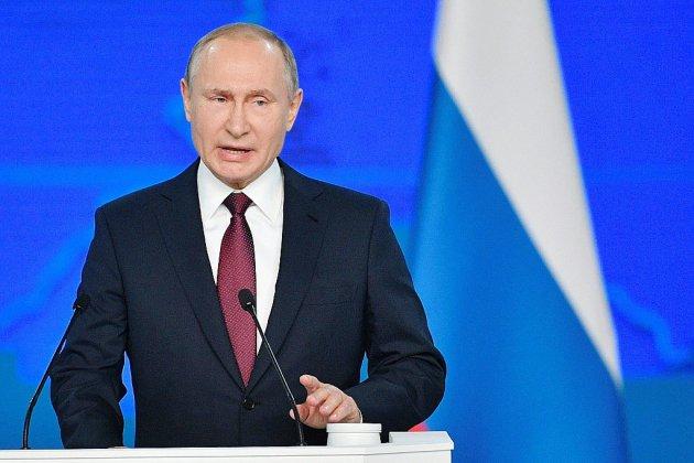 Confronté à une chute de popularité, Poutine promet aux Russes d'améliorer leur niveau de vie