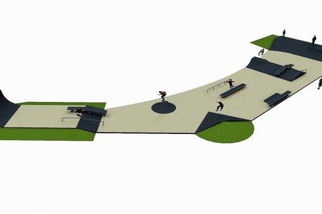 Un nouveau skatepark à Ouistreham