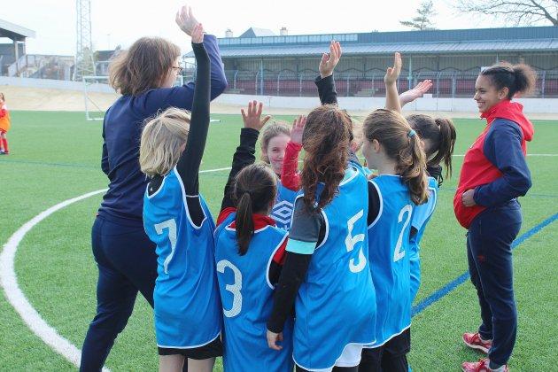 Football: 36 jeunes filles à la première porte ouverte du SM Caen