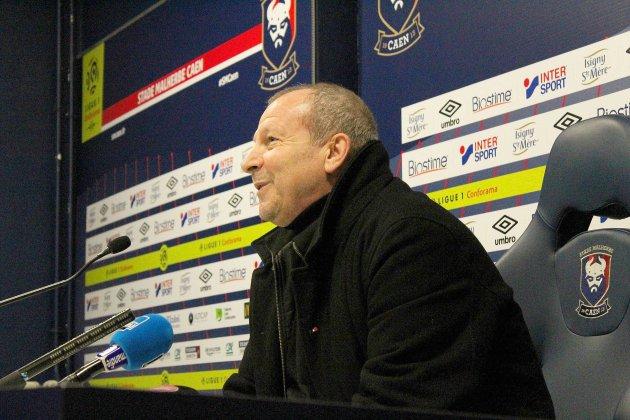 Football (Ligue 1): Les premiers mots de Rolland Courbis au SM Caen