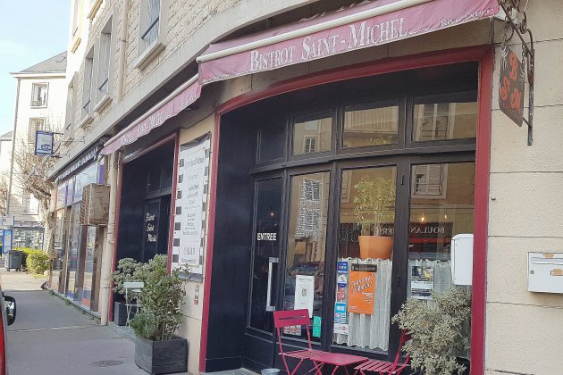 Bonne table à Caen : le Bistrot Saint-Michel, rue ... Saint-Michel