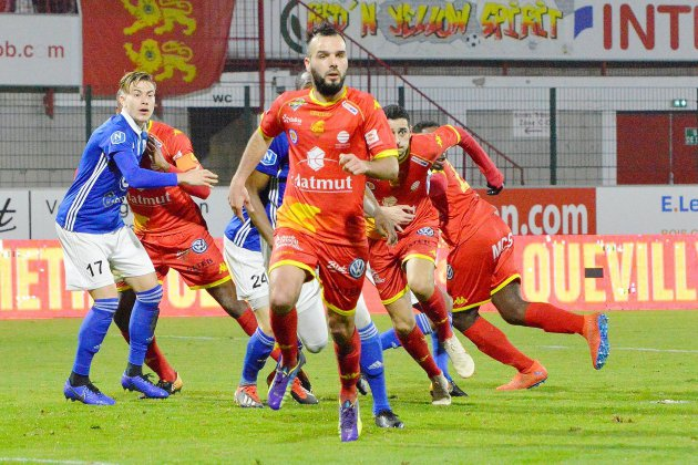 Football (National) : Avranches s'adjuge le derby à QRM !