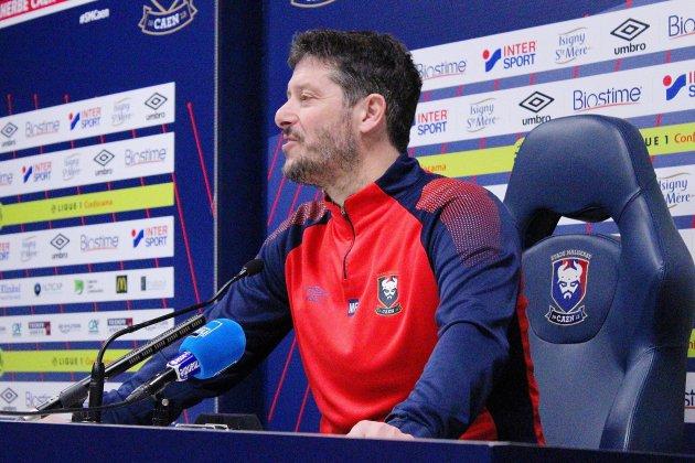 """Football (Ligue 1) : """"On est capable de battre Toulouse"""" assure Fabien Mercadal"""