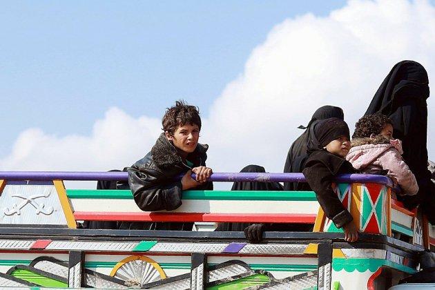 Syrie: urgence humanitaire face à l'afflux de civils quittant le réduit de l'EI