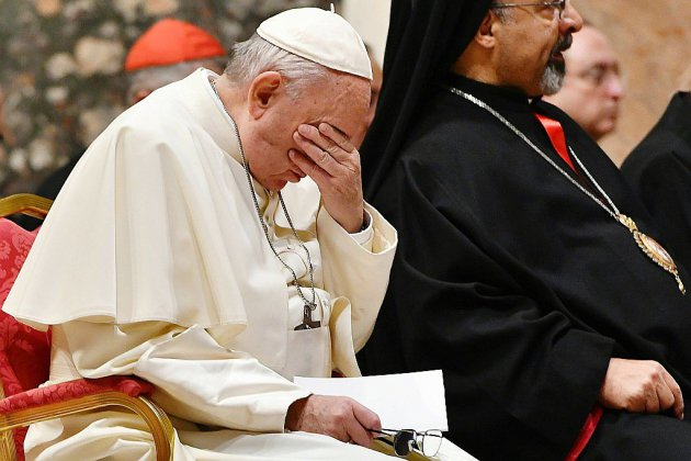 Abus sexuels: place aux conclusions du pape François
