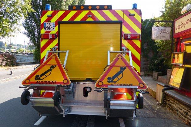Orne: un jeune motard grièvement blessé après une perte de contrôle