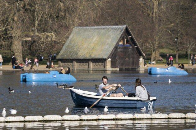 L'hiver perd le nord en Europe en ce mois de février