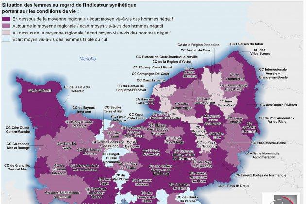 8 mars: les Normandes plus exposées à la pauvreté que les Normands