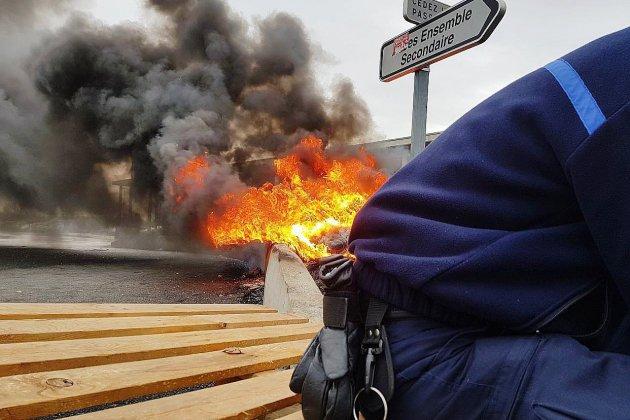 Quatre prisons encore bloquées, dont celle de Condé-sur-Sarthe