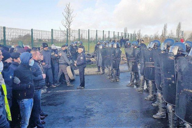 Prison de Condé-sur-Sarthe : intervention des gendarmes mobiles