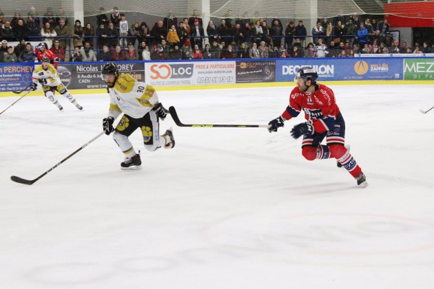 Hockey-sur-glace (Play-offs) : Les Drakkars désormais menés 2-0 en play-offs