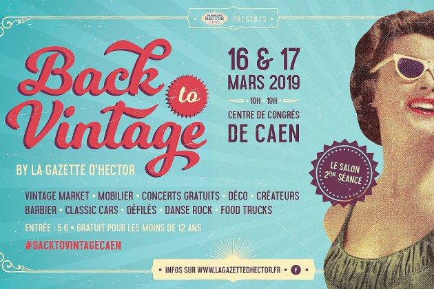 Le Salon Back To Vintage revient pour une deuxième année à Caen !