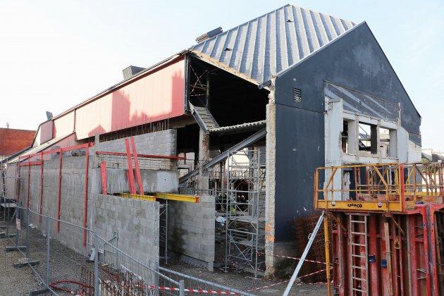 Caen : le nouveau théâtre des Cordes devrait ouvrir à la fin de l'année