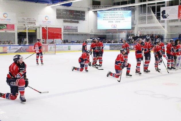 Hockey-sur-glace : les play-offs, c'est déjà fini pour les Drakkars