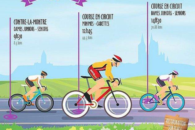 Route de l'Ouest Féminine à Coutances