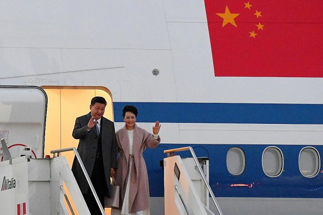 """Le président chinois à Rome pour promouvoir les """"nouvelles routes de la soie"""""""
