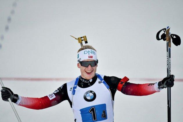 Biathlon: une 16e victoire record et un Grand Chelem pour Boe