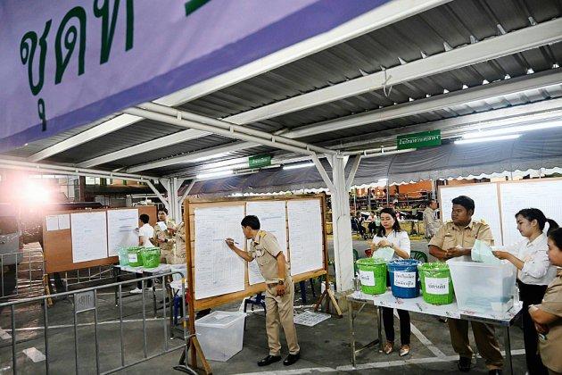 Législatives en Thaïlande: résultats serrés entre junte et opposition