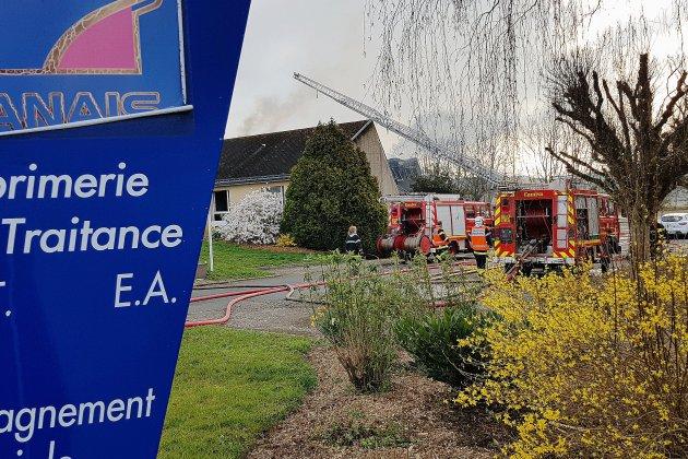 Incendie Anaïs à Alençon: une centaine de travailleurs impactés