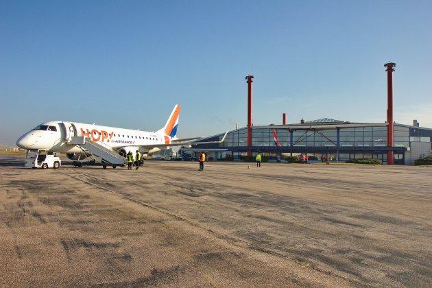 Aéroport de Rouen : les vols vers Lyon suspendus dès la mi-juin