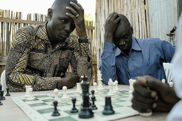 A Juba, le jeu d'échecs pour oublier la guerre