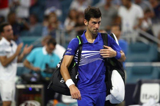 Miami: Novak Djokovic, la panne brutale