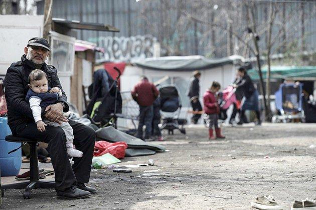 Dans un bidonville de Bobigny, la terreur de Roms pris pour cible après une rumeur