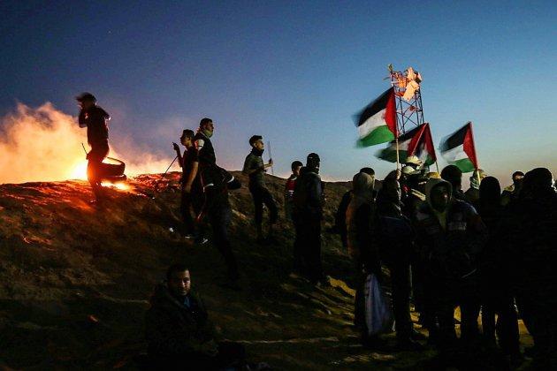 Mobilisation palestinienne à haut risque samedi à la frontière israélienne