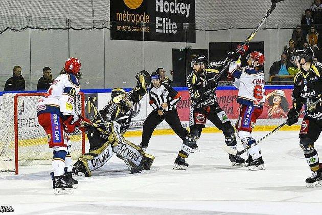 Hockey sur glace (Magnus) : Rouen ratesonentrée dans la finale