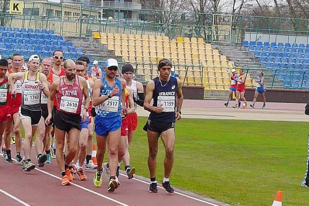 Athlétisme : le calvadosien Meftah Swaieh champion du monde du 10 km marche