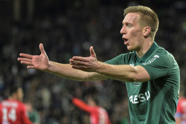 Ligue 1: Saint-Etienne s'accroche à son rêve européen