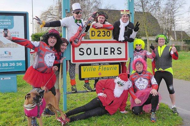 """A Soliers, place à """"La Solarienne"""", une course animée !"""