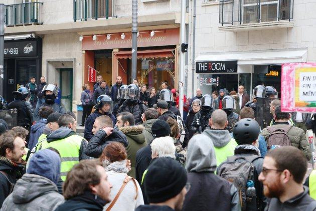 Gilets jaunes, Acte XXI : manifestation interdite dans le centre de Rouen