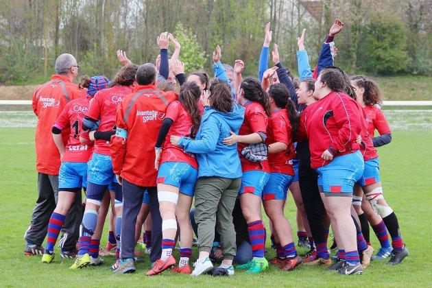 Rugby (Elite 1 F): Victoire rassurante et méritée pour l'Ovalie Caennaise !