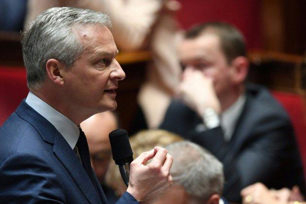 """Taxe Gafa: Le Maire défend à l'Assemblée une mesure à """"l'honneur de la France"""""""