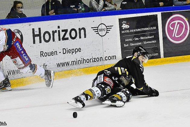 Hockey : les Dragonsde Rouen cèdent leur couronne